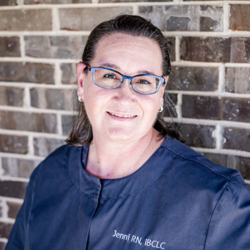 Jenni who is the Lactation Consultant at De Pere Smiles
