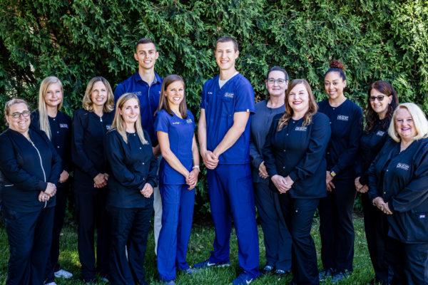 The De Pere Smiles team who provide dental services in De Pere, WI