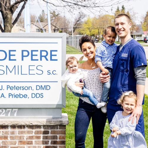 Image of your dentist in CITY using modern technology showing Our Difference at De Pere Smiles of De Pere WI